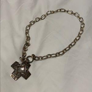 Sterling silver silpada cross